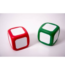 Magnetic Write/Wipe Dice 120mm