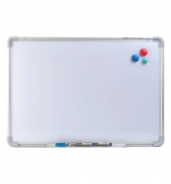 Magnetic White Board 30x45cm with Marker and Magnets