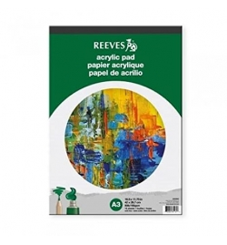 Acrylic Art Pad A3 - Reeves