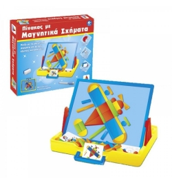 Magnetic Board with Shapes