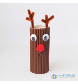 Rudolph with Paper Roll