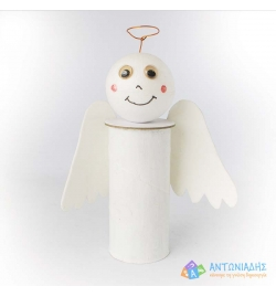Little angel with Paper Roll