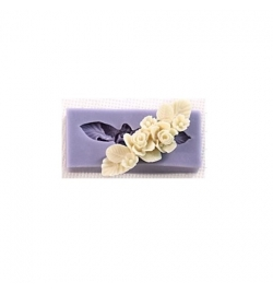 Silicone Mold Flower Lace 58x25x11mm