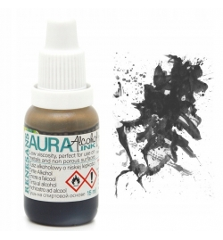 Alcohol Ink Aura 15ml Μαύρο - Renesans